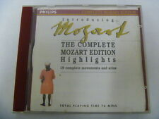 MOZART COMPLETE HIGHLIGHTS EDITION FREEPOST CD