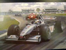 1999 British Grand Prix, Silverstone, McLaren Coulthard, door Michael Turner