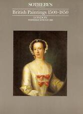 Sotheby's British Paintings 1500-1850 London 1990