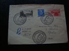 FRANCE - enveloppe 1er jour 15/3/1947 (journee du timbre algrange)(cy54) french