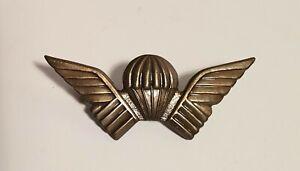 Original Rhodesian Selous Scouts wings, numbered badge.