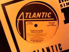 """Parking Meters 1984 12"""" single CROSS MY HEART....Long 5.30 / Short 3.54"""