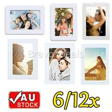 Photo Frames 6x4in Magnetic Picture Notes Fridge Clear Pocket Idea Gift Decor