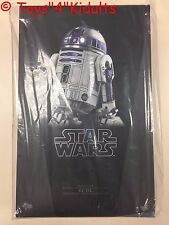 Hot Toys MMS 408 Star Wars VII The Force Awakens R2D2 R2-D2 18cm Figure NEW