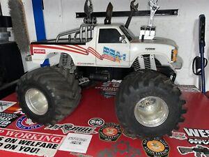 Vintage Kyosho Usa 1 Monster Truck Novak Rooster Esc Works Rc