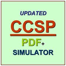 ISC2 Certified Cloud Security Professional Exam CCSP Test QA SIM PDF+Simulator
