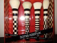 Sonia Kashuk The Geometrics Limited Edition 4 Piece Brush Set Black White & Gold