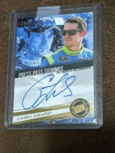 2013 PRESS PASS GOLD SIGNINGS /25 AUTO CASEY MEARS