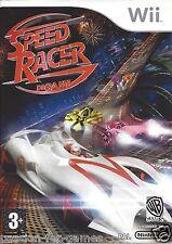 SPEED RACER DE GAME voor Nintendo Wii - met doosje en handleiding