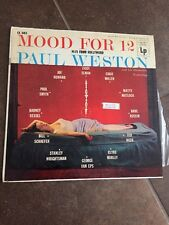 PAUL WESTON - MOOD FOR 12 - COLUMBIA CL-693