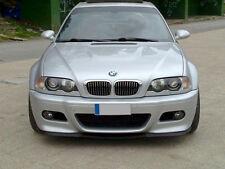 BMW 3-Series E46 M M3 Front Bumper CUPRA R Euro Spoiler Lip Valance Splitter 99-