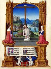 ART PRINT POSTER PAINTING RELIGIOUS JESUS CHRIST CRUCIFIX NOFL1036