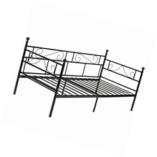GreenForest Twin Size Daybed Couch Bed Frame/Steel Slats Platform Strong Support