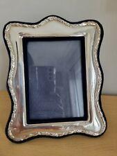 More details for vintage sterling silver hallmarked photo frame