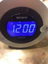 Sony Dream Machine ICF-CD3IP Alarm Clock CD Player Radio iPod Dock w Aux Jack