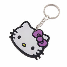 Soft  Hello Kitty Key Ring Phone Key Chain Charm Bag Silica Gel Collection Gift