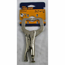 "6"" Vise Grip Locking C Clamp with Tips - IRWIN Tools - 17"
