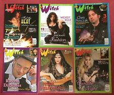 NEW WITCH Magazine~6 Issues~2006-2009~#13-18~Free Shipping