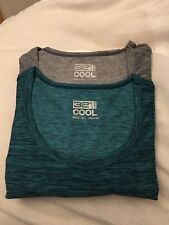 32 Degree Cool Womens Short Sleeve  Shirt - Lot Of 2 - Assorted Colors - Size Lg