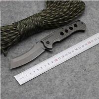 Couteau de Poche BROWNING Lame Spéciale 10 cm Manche Acier Massif 12 cm Outdoor