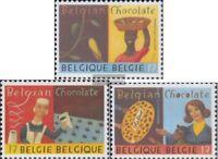 Belgien 2877-2879 (kompl.Ausg.) postfrisch 1999 Belgische Schokolade