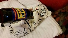 White Siberian Tiger Baby Wine Bottle Holder