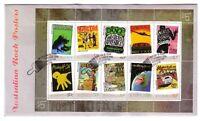 """2006 FDC Australia. Australian Rock Posters. M.S. Pict.FDI  """"ROCKHAMPTON"""""""