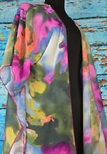 Interi Women's Sleeved Shawl Luxurious Colorful Rainbow Shawl Wrap USA Boho