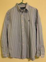 Ralph Lauren Classic Fit Mens Sz 16.5 34/35 Dress Shirt Long Sleeve Button Down