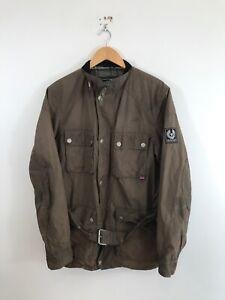 Belstaff Trial Master Waxed Cotton Jacket Coat XL