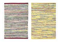 "2-PACK Nourison Montclair Stripe Accent Floor Area Rugs 24"" x 36"" or 30"" x 48"""