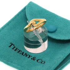 Tiffany&Co. Jewelry 18K Yellow Gold Knot Band Ring Size 5.5