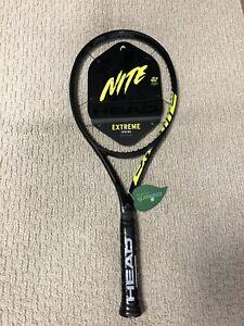New LTD Head Graphene 360+ Extreme Nite MP Tennis Racquet Grip 4 3/8
