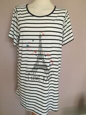 Evans Viscose Plus Size Short Sleeve Women's Tops & Shirts