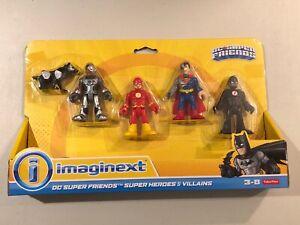 Fisher Price Imaginext DC Super friends Super Heroes & Villains Black Flash RARE