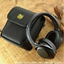 VanNuys Carrying case for SONY MDR-1000 X and Custom parts ballistic nylon Black