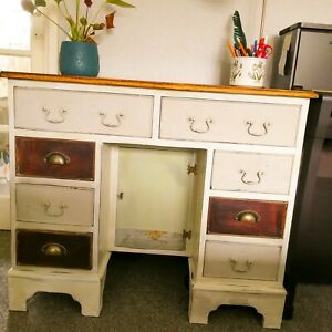 Small Executive pedestal  desk with drawers