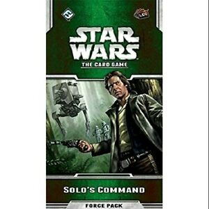 Star Wars The Card Game SOLO'S COMMAND Force Pack / Expansion FFG LCG