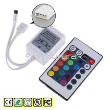 Wireless 24 Key IR Remote Controller DC 12V 6A For 3528 5050 RGB LED Light Strip
