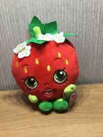 Shopkins Plush New Soft Toy Teddy Collectable Fruit Strawberry 8 Inch