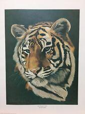 Wayne Floeck Manchurian Tiger Signed & Numbered Wildlife Art Print