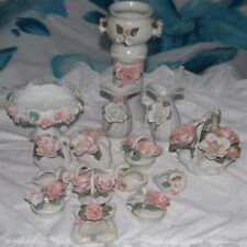 Box # 2, job lot of 17 dressing table ornaments  suitable for car boot sales etc