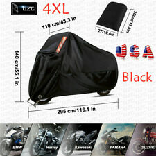 Motorcycle Cover Waterproof XXXXL For Harley Davidson Heavy Duty Rain Snow Wind