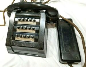 Vintage Telephone Office Intercom 15 line Made in England
