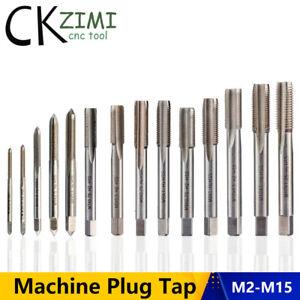 M2.5 M3 M4 M5 M6 M7 M8 M9 M10 M12 M14 M15 Right Hand M2-M15 Machine Thread Tap