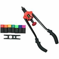 M3 – M12 Hand Nut Riveter Nut Sert Tool Fastener Fastening Riveting Kit 3 - 12mm
