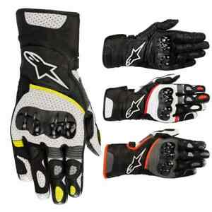 Alpinestars SP-2 v2 Mens Leather Street Riding Racing Road Motorcycle Gloves