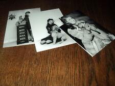 SHEILA LOT DE PHOTOS FORMAT 10*15 N&B - THEME 013 ANIMAUX - 3 PRISES