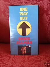 Gregg Allman One Way Out VHS