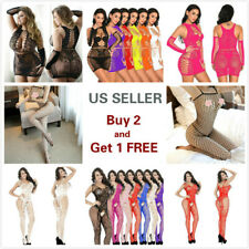 Lingerie Sexy Bodystocking Bodysuit Fishnet Stocking Nightwear Sleepwear Lace
